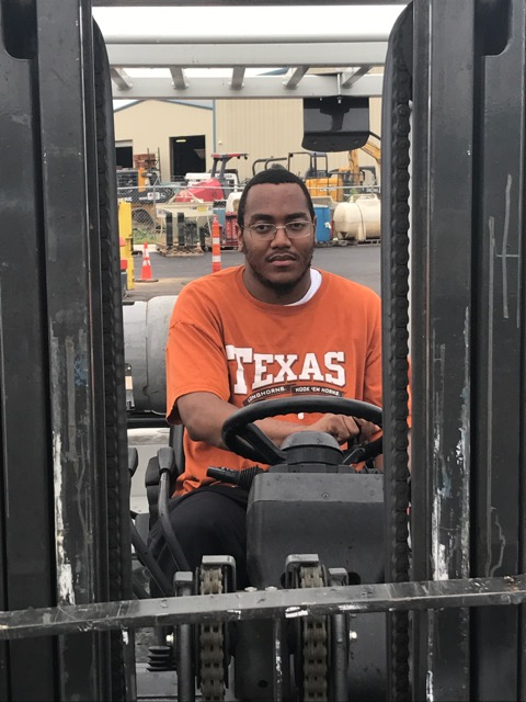 hands on forklift driver training