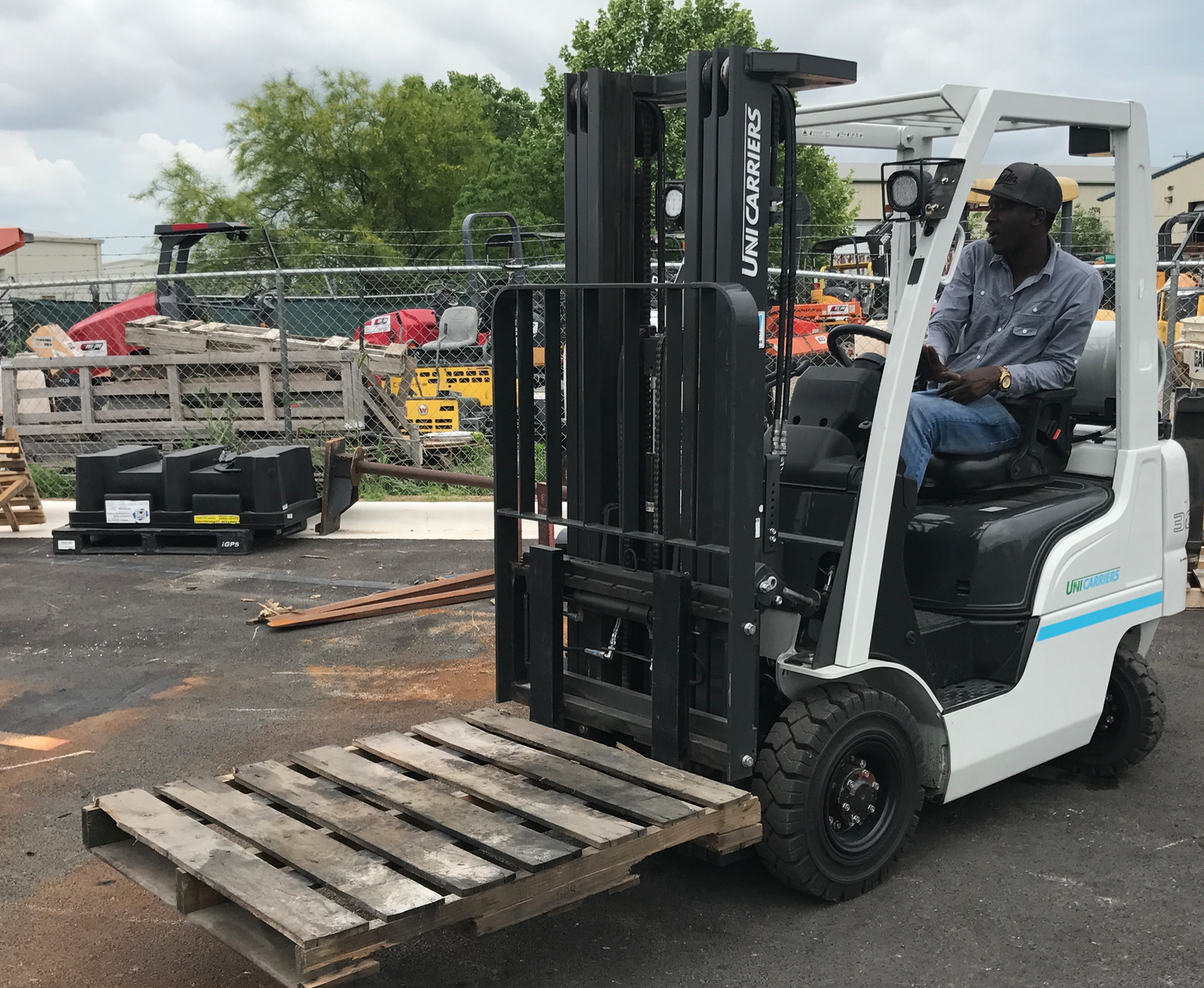 hands on forklift driver training in austin texas